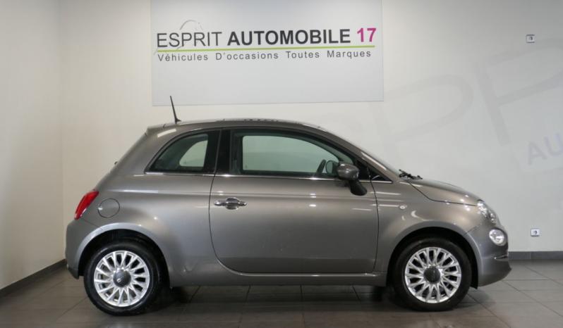 Fiat 500 1.2l 69 cv lounge toit pano 6 921 km 1ere Main plein