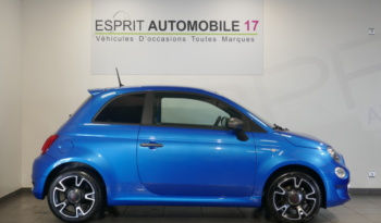 Fiat 500 s 1.2 69cv – 08/2018 – 9091 km plein